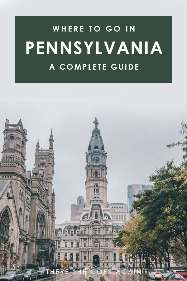 All the best places to visit in Pennsylvania | pennsylvania bucket list, visit pa, pa travel, pennsylvania travel