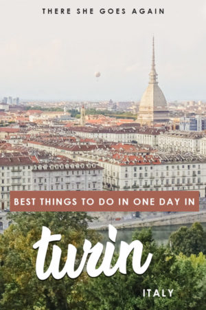 Here's how to spend one day in Turin, Italy! From things to do, places to eat, where to stay, and more, it's all in this travel guide. #turin #thingstodointurin #italy #italytravel