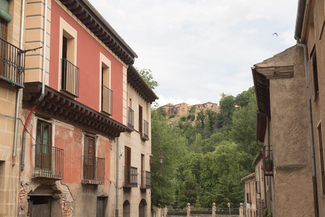 Segovia alleyway
