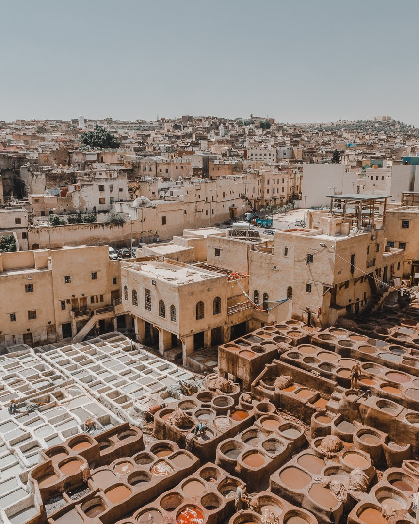 channoura tannery in fez