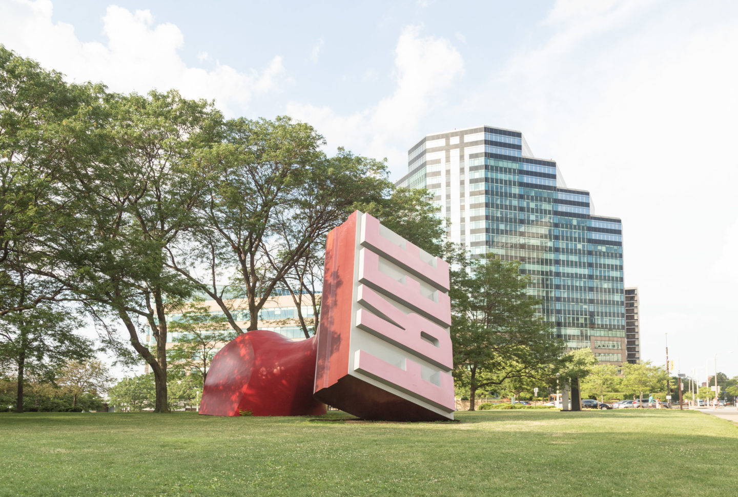 Largest Rubber Stamp | Unique things to do in Cleveland, Ohio