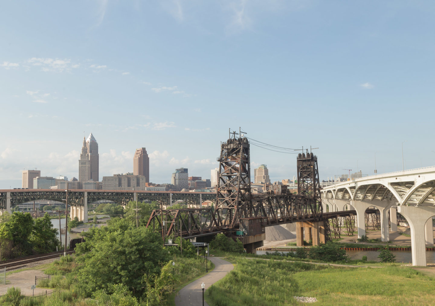 View of downtown Cleveland from Tremont