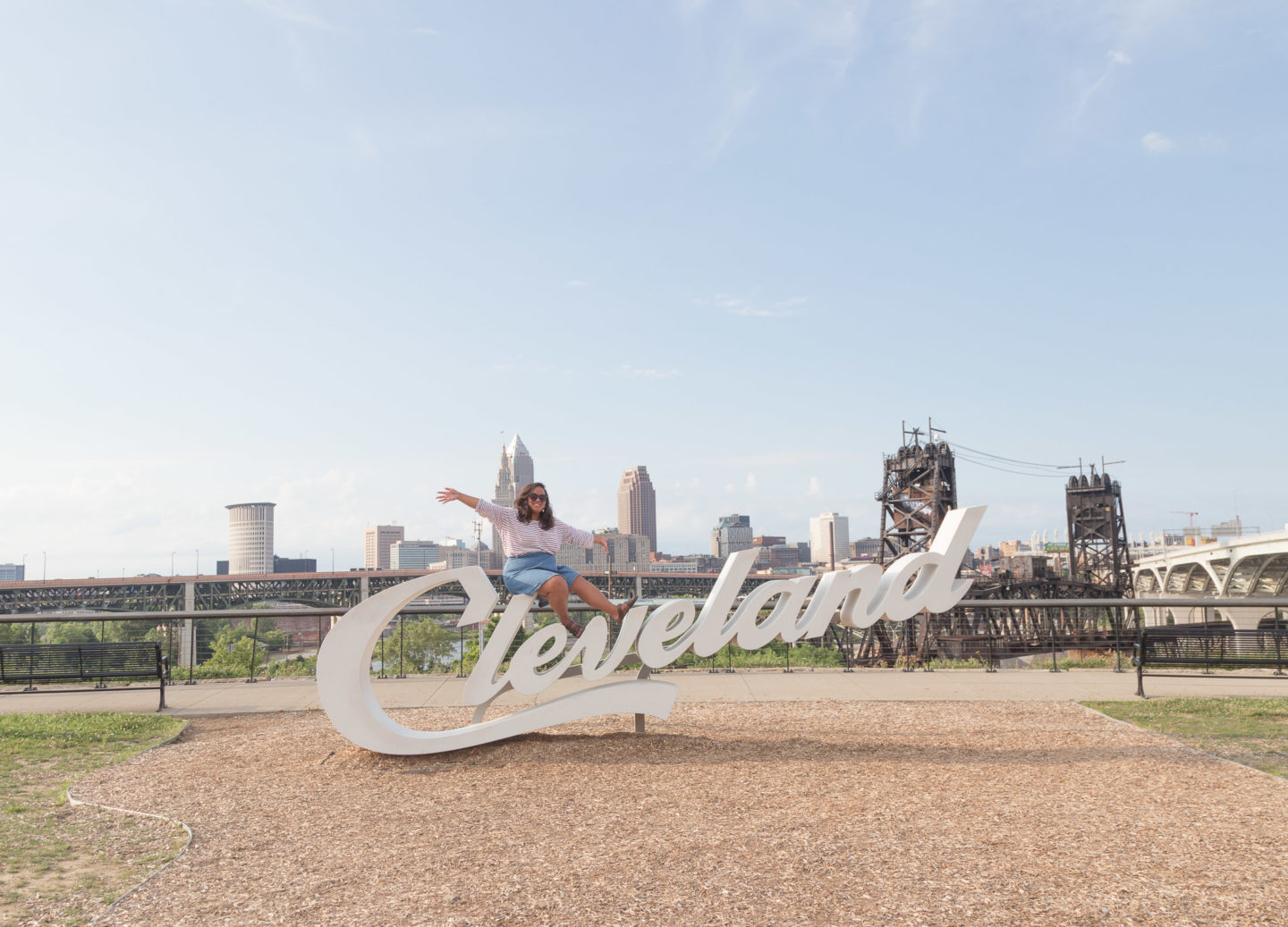 Cleveland Script signs | Cool things to do in Cleveland, Ohio