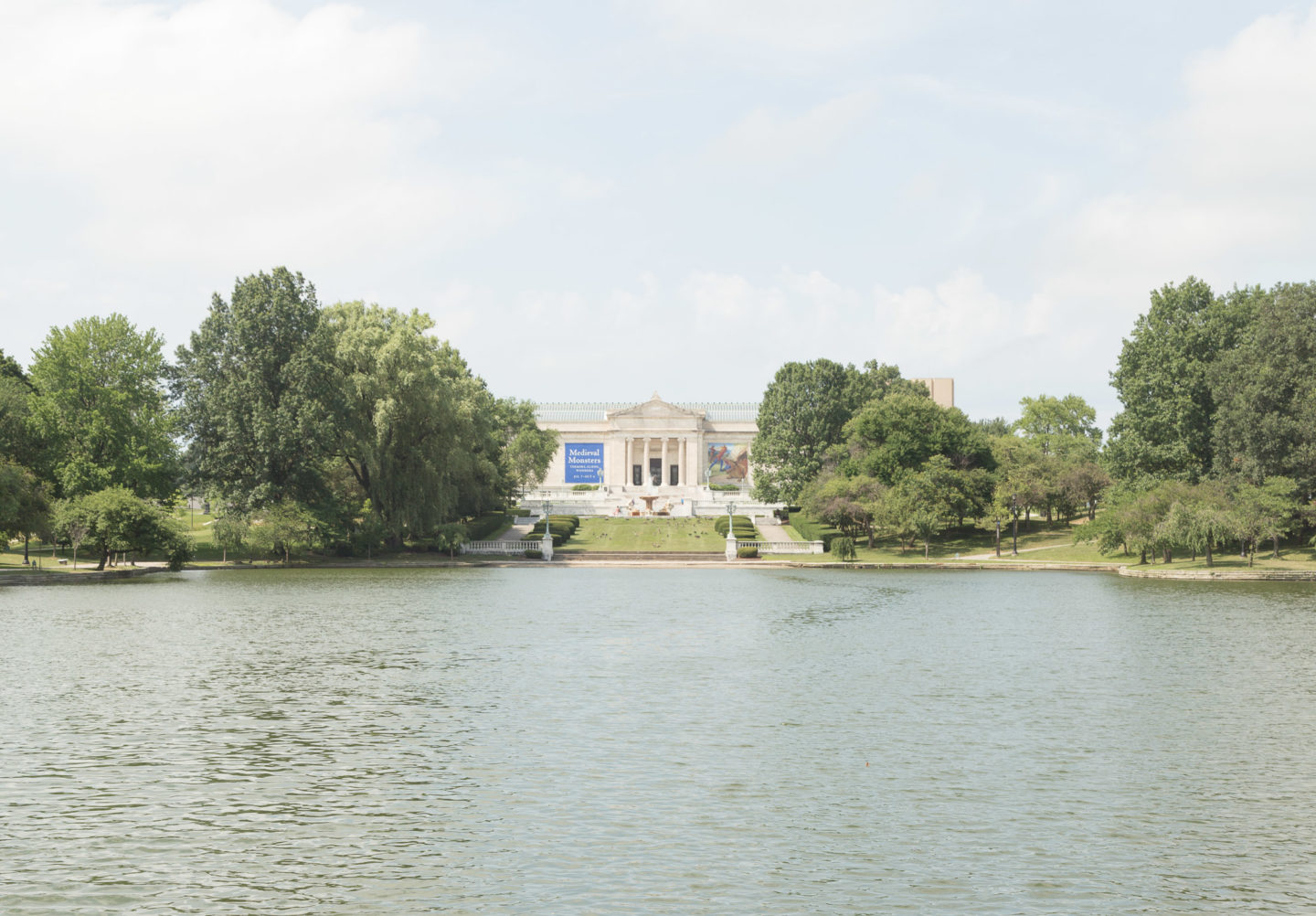Cleveland Museum of Art in Wade Park, Ohio