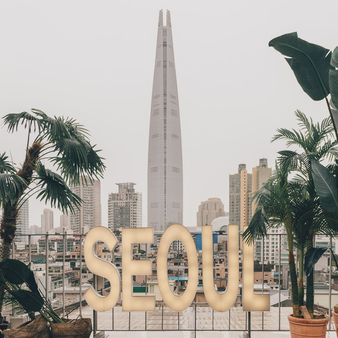 Seoulism (서울리즘): the Cafe with Views to Lotte World Tower