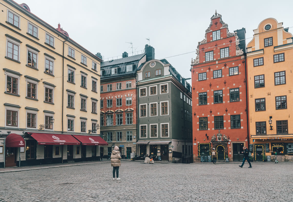 Storgoret Square, Stockholm, Sweden