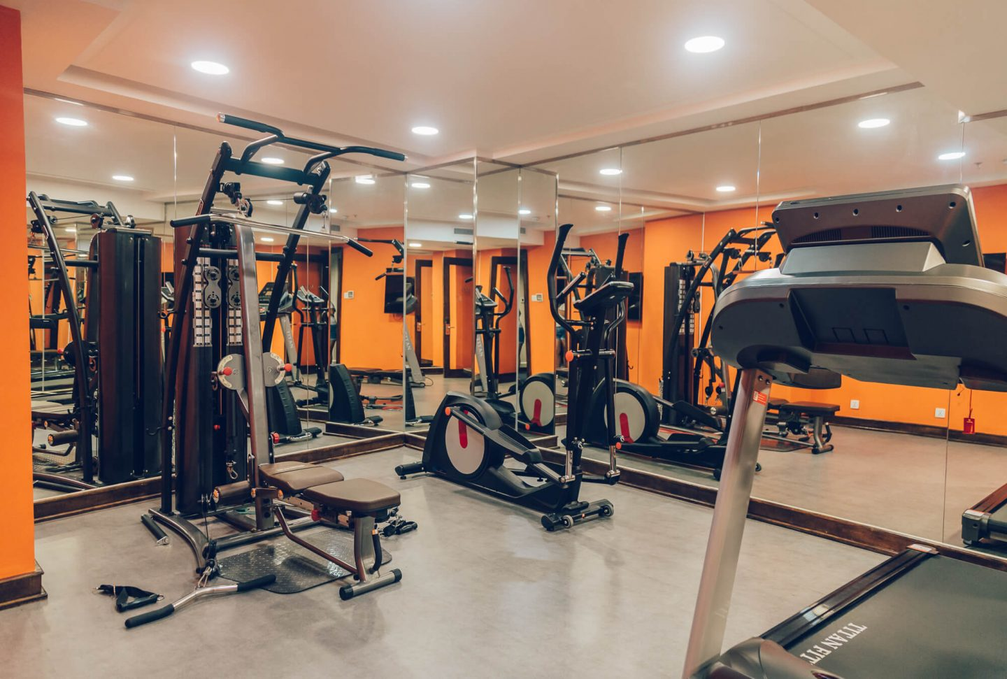 Gym, Odys Boutique Hotel, Ho Chi Minh City, Vietnam