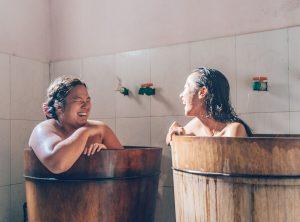 Herbal Baths with Red Dzao Tribe, Sapa, Vietnam