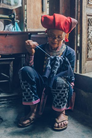 Red Dzao Tribe, Sapa, Vietnam