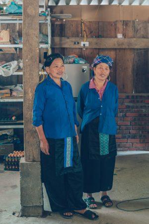 Blue Hmong in Sapa, Vietnam