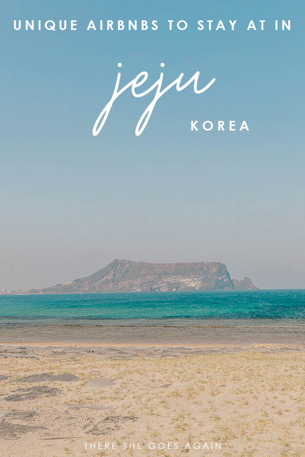 Unique Airbnbs to visit in Jeju, Korea