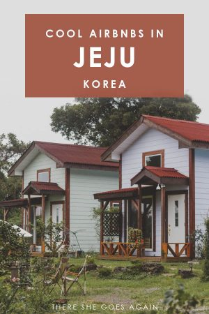 Cool places to stay in Jeju, Korea