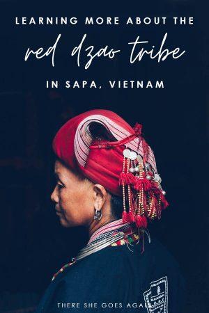 Red Dzao Tribe in Sapa, Vietnam
