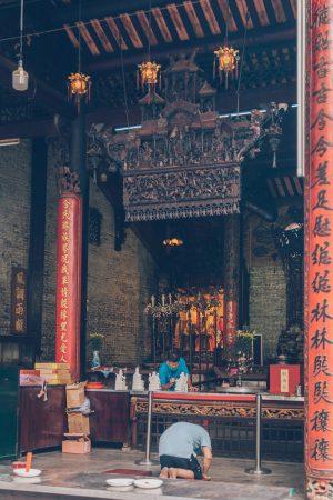 Chùa Bà Thiên Hậu, HCMC, Vietnam