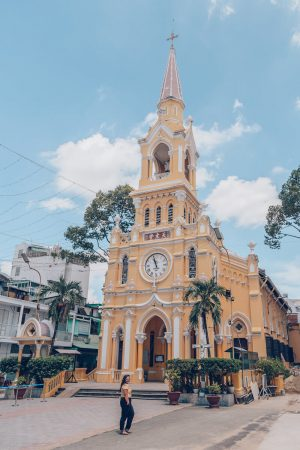 Cha Tam Church (St Francis Xavier Parish), HCMC, Vietnam