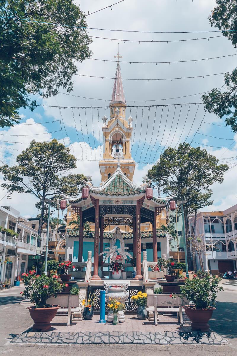 Cha Tam Church (St Francis Xavier Parish), HCMC, Vietnam