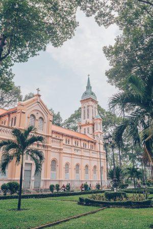 Jeanne d'Arc Church, District 5, HCMC, Vietnam
