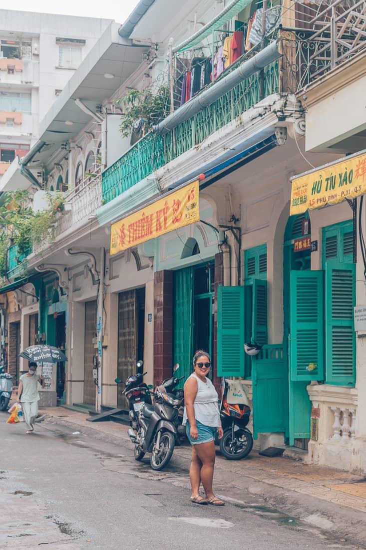 The Lover Shophouse, Cholon, Saigon, Vietnam