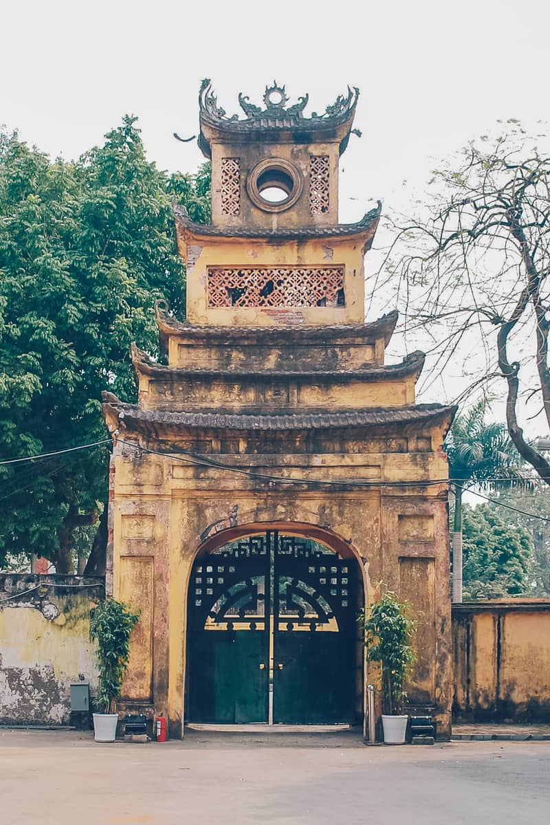 Imperial Citadel of Thang Long, Hanoi, Vietnam