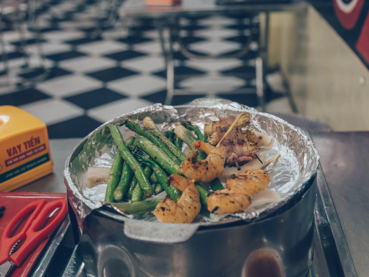 BBQ in Hanoi, Vietnam