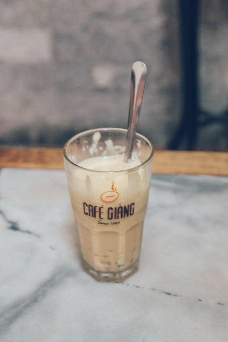 Cafe Giang, Hanoi, Vietnam