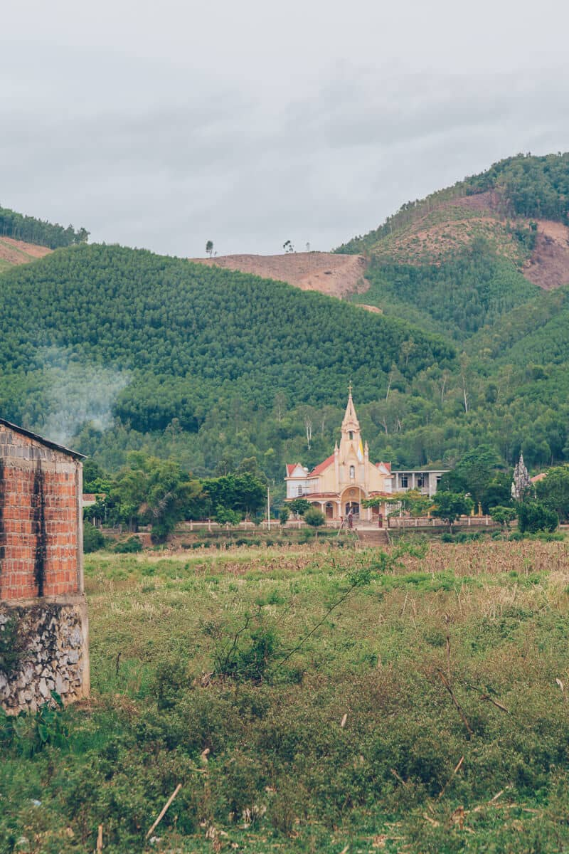 Church in Phong Nha, Vietnam