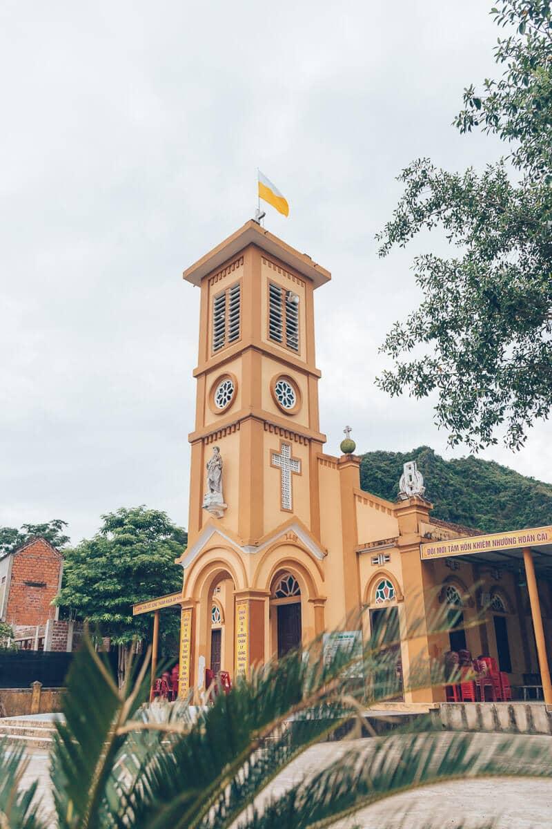 Church in Phong Nha, Vietnam