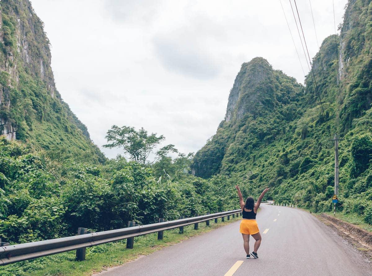 Motorbiking in Phong Nha Ke Bang National Park, Vietnam