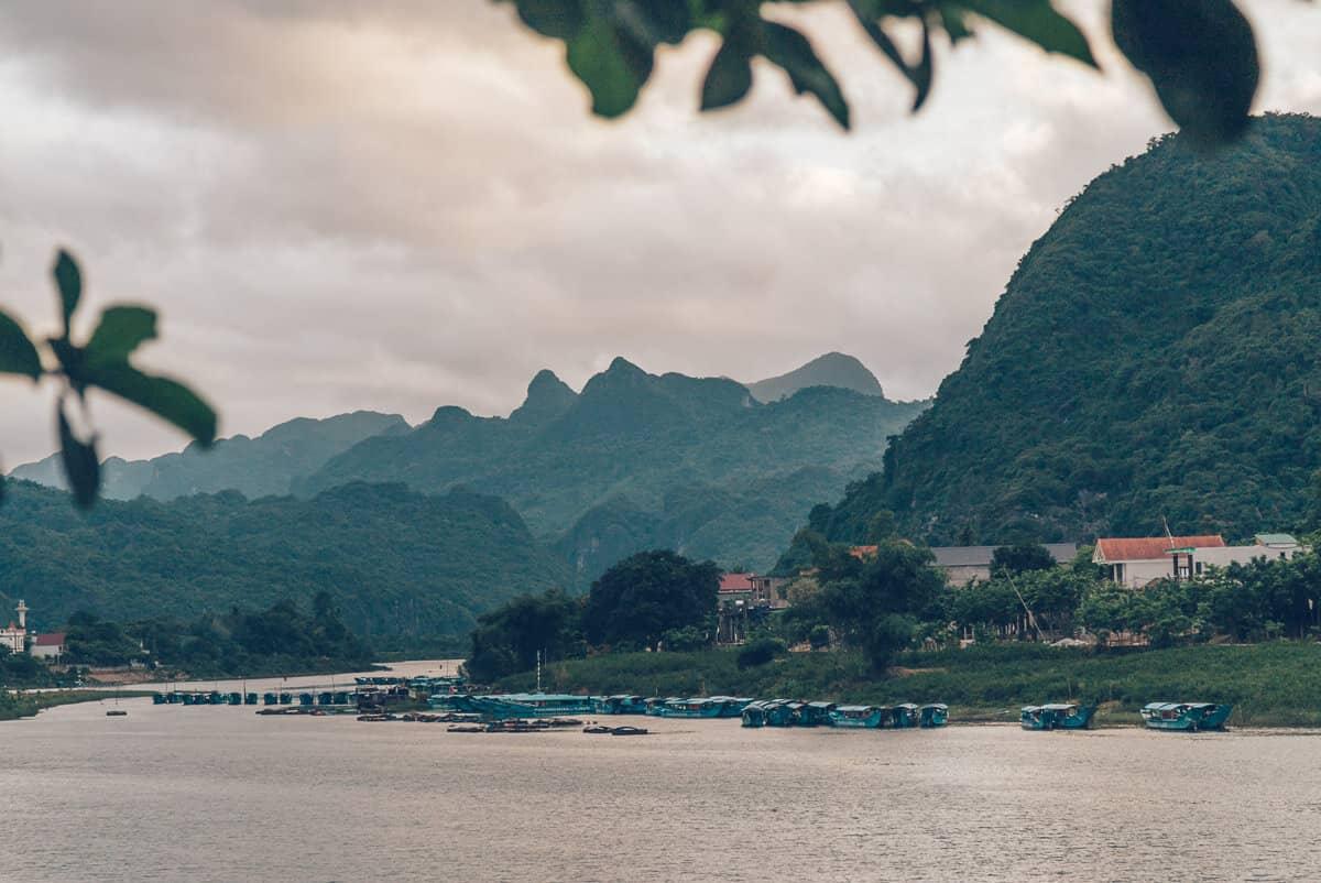 Sunset at Phong Nha, Vietnam