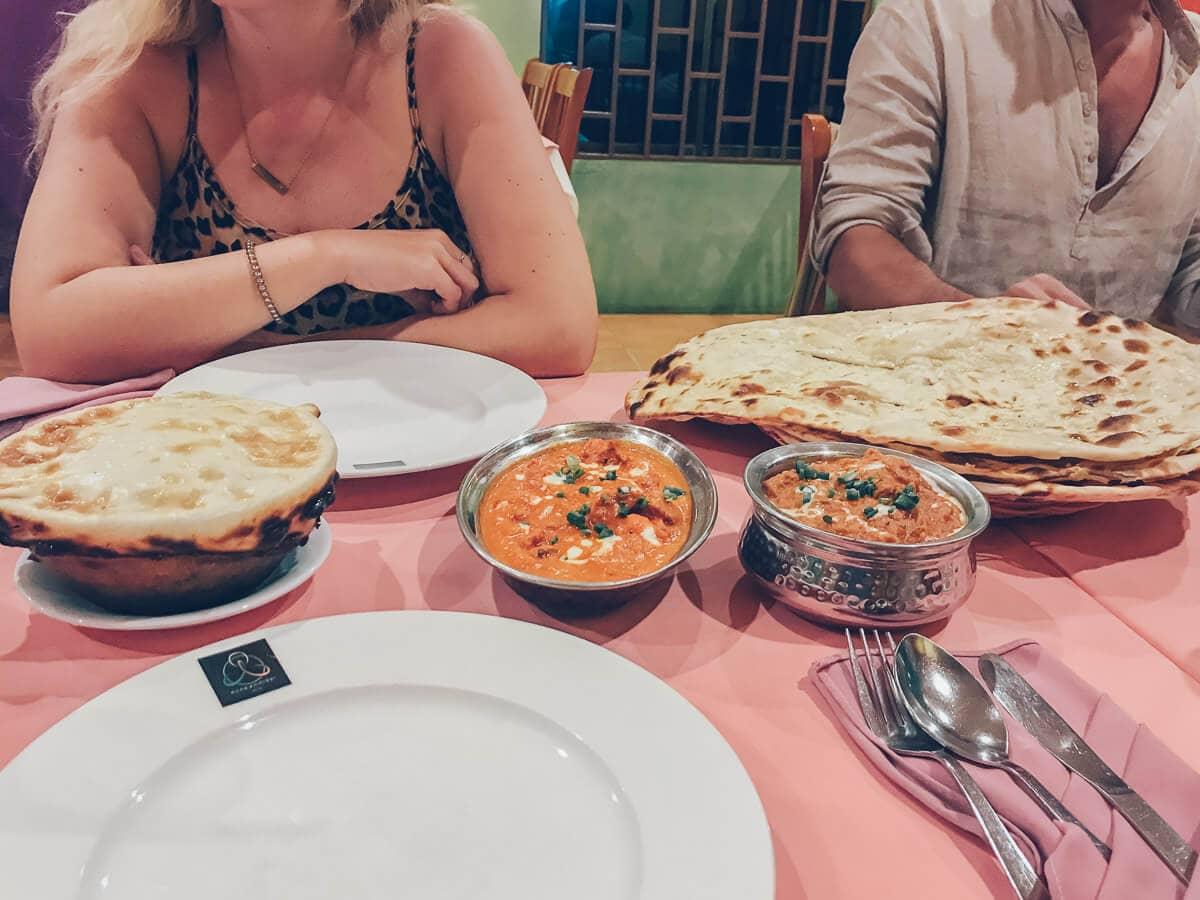 Omar's Namaste Indian Restaurant in Phong Nha, Vietnam