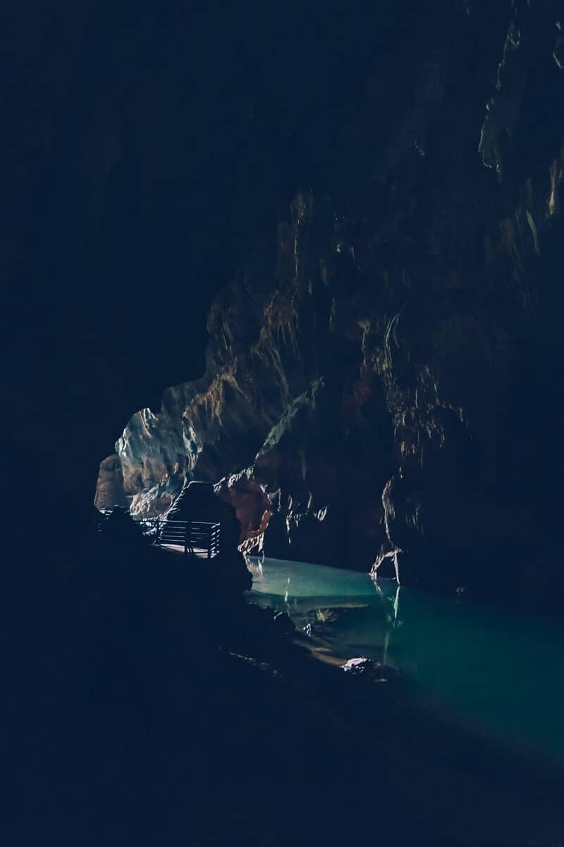 Dark Cave in Phong Nha, Vietnam