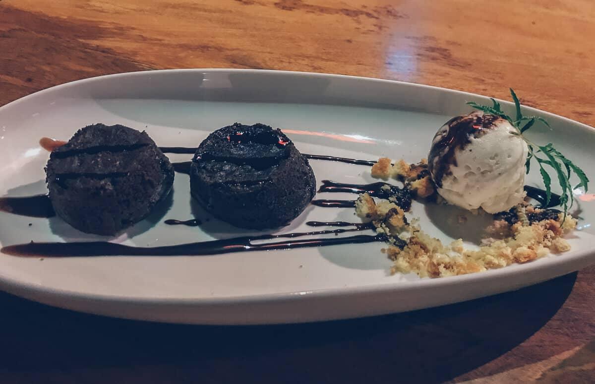 Dessert at Phong Nha Farmstay, Vietnam