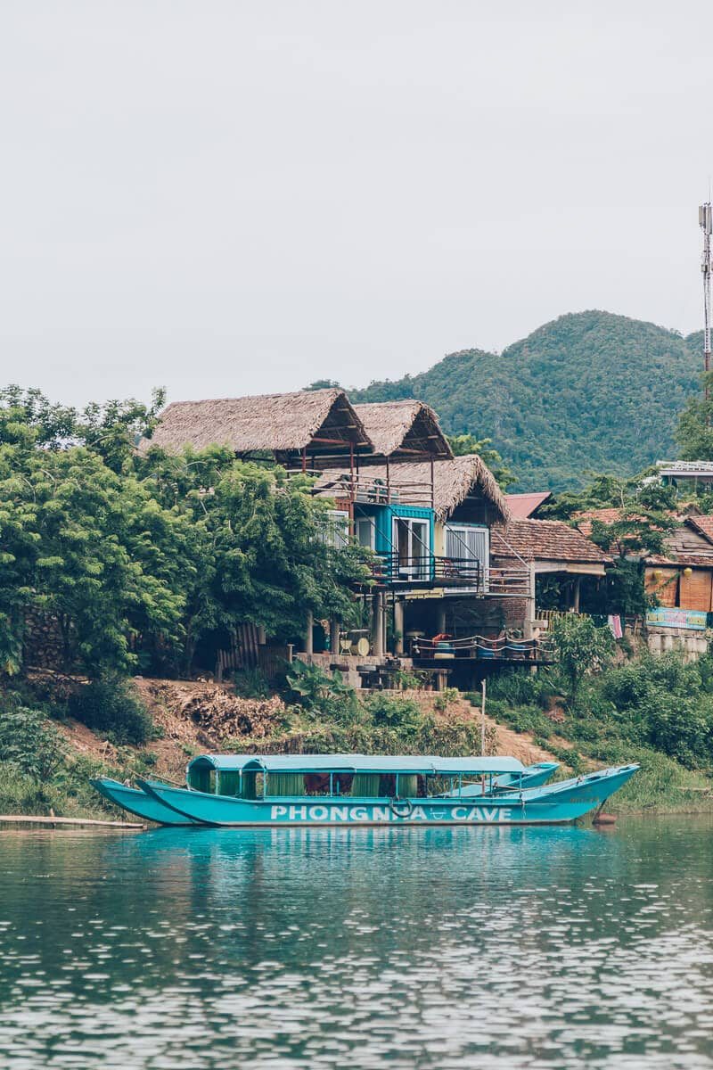 River at Phong Nha, Vietnam