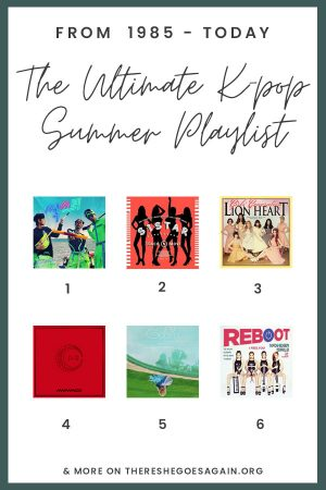 Your ultimate guide to K-pop summer songs from all decades! | kpop songs, summer korea, korean music
