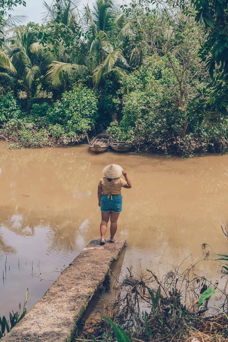 BInh Hoa Phuoc River, Vinh Long, Vietnam