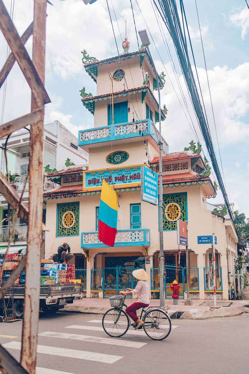 Dien Tho Phat Mau thanh pho Vinh Long, Vietnam