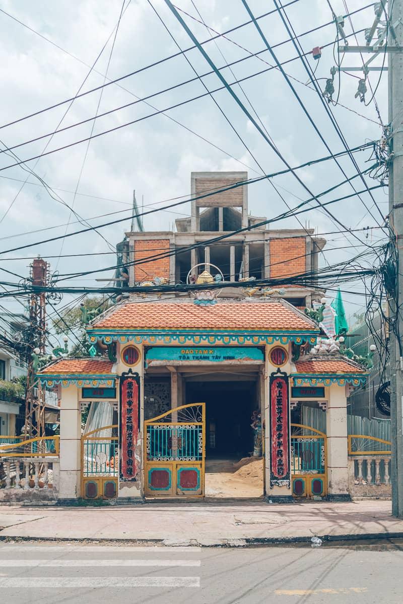Cao Dai Temple, Vinh Long, Vietnam