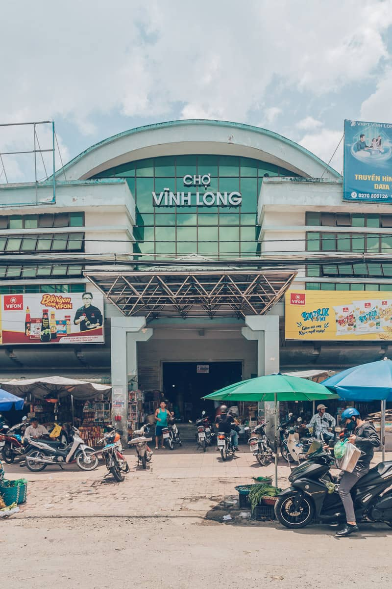 Vinh Long Market (Cho Vinh Long), Vietnam