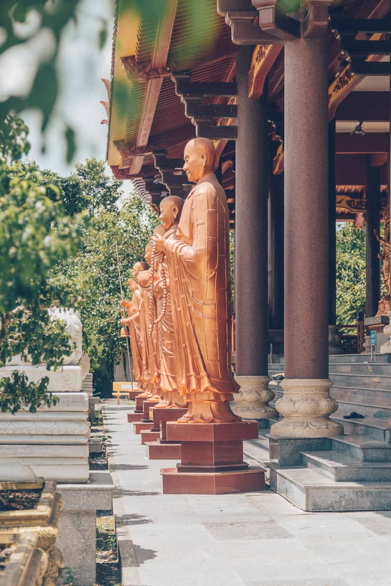 Chua Phat Ngoc Xa Loi, Vinh Long, Vietnam