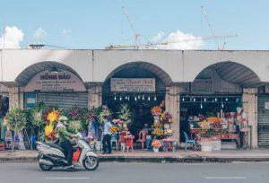 Benh Thanh Market, District 1, Vietnam