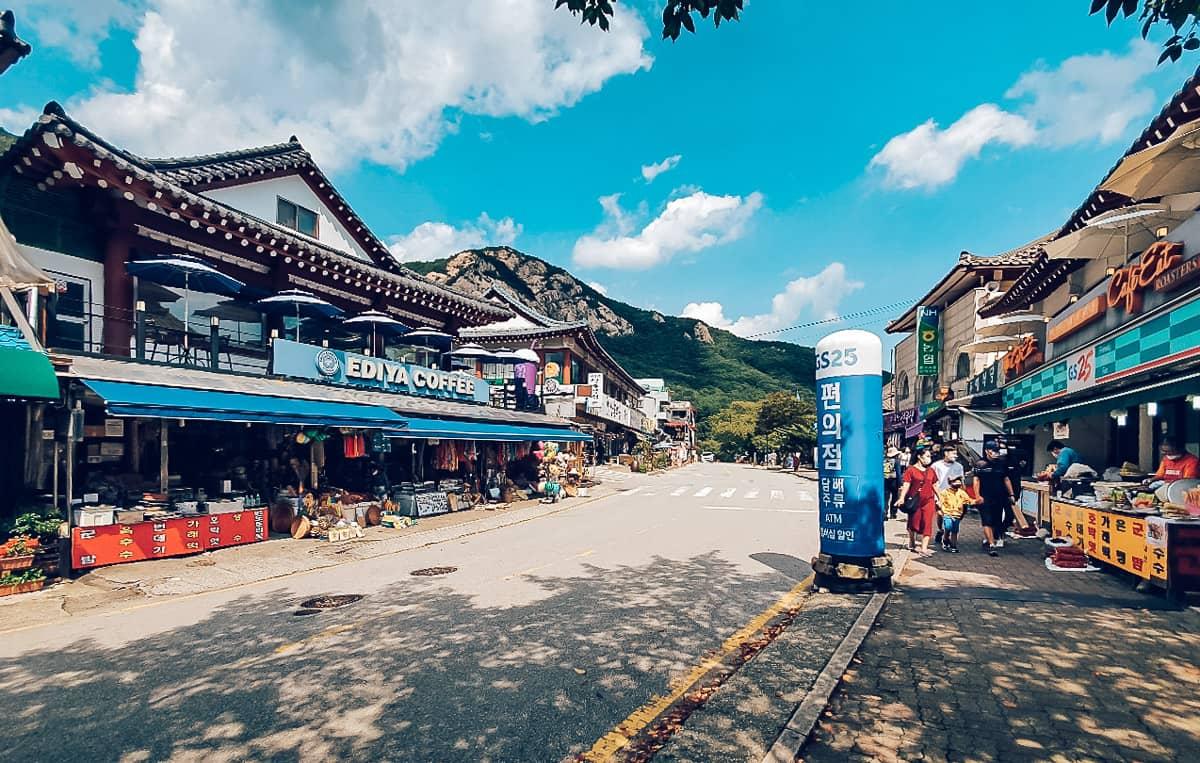 Town near Gyeryongsan, Korea