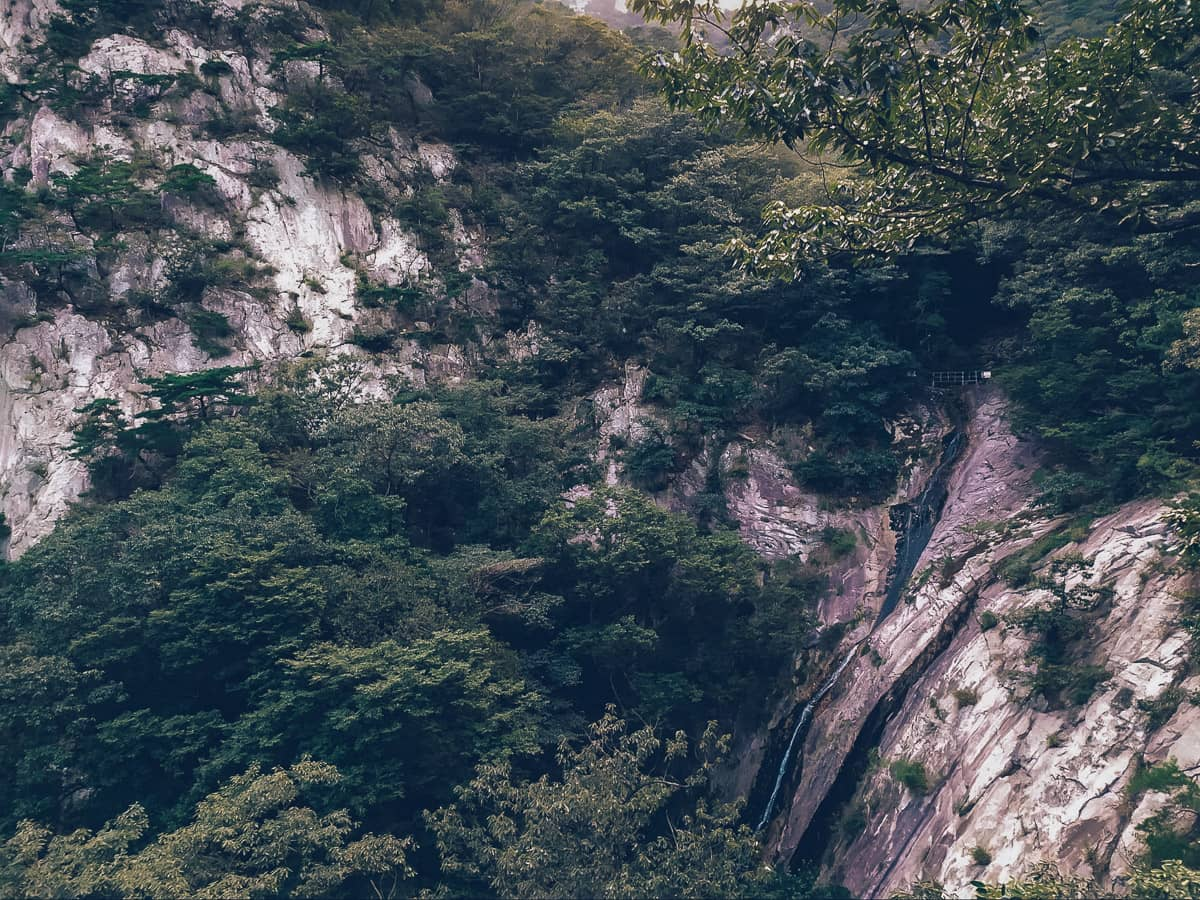 Eunson Falls, Gyeryongsan, Korea