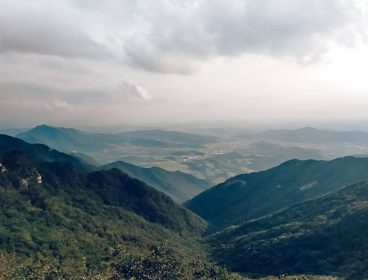 Gwaneum Peak, Gyerongsan, Korea