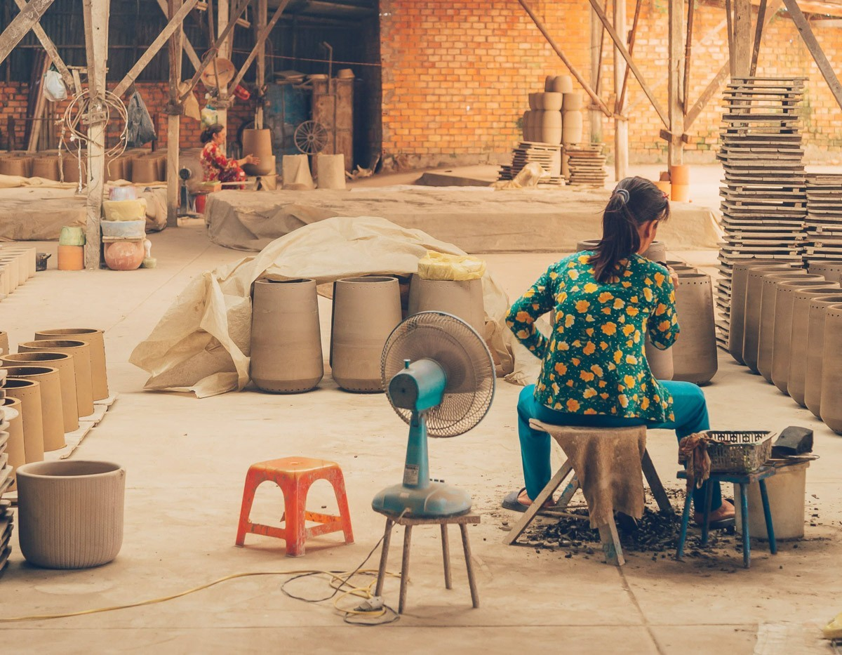 Pottery Factory, Vinh Long, Vietnam