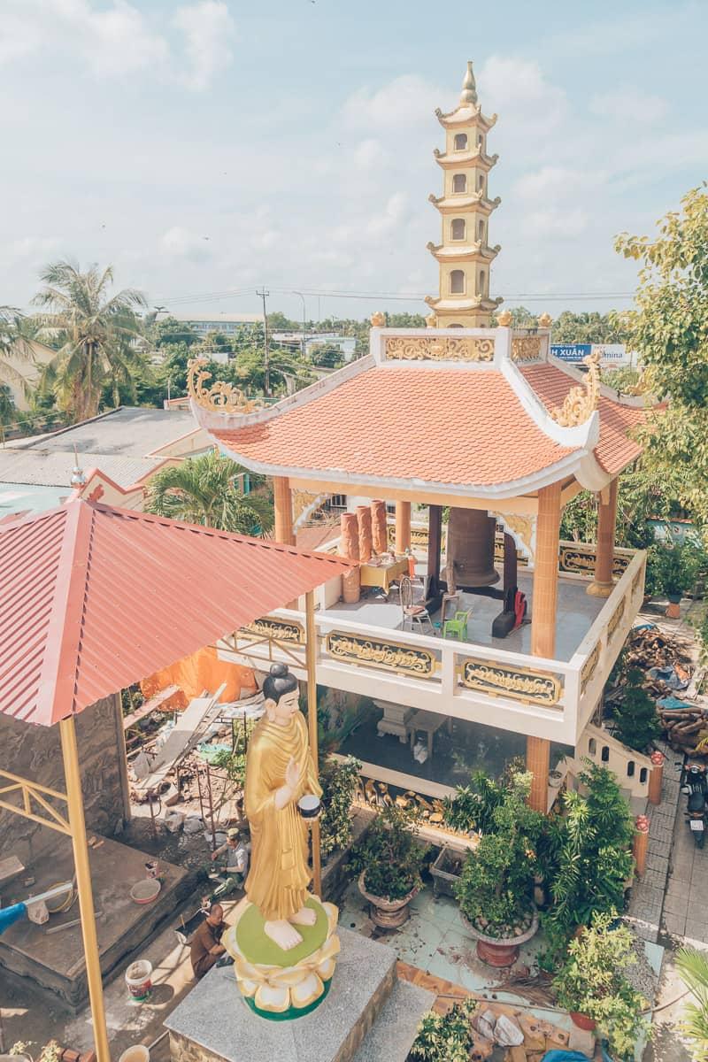 Thien Vien Ngoc Hanh, Vinh Long, Vietnam