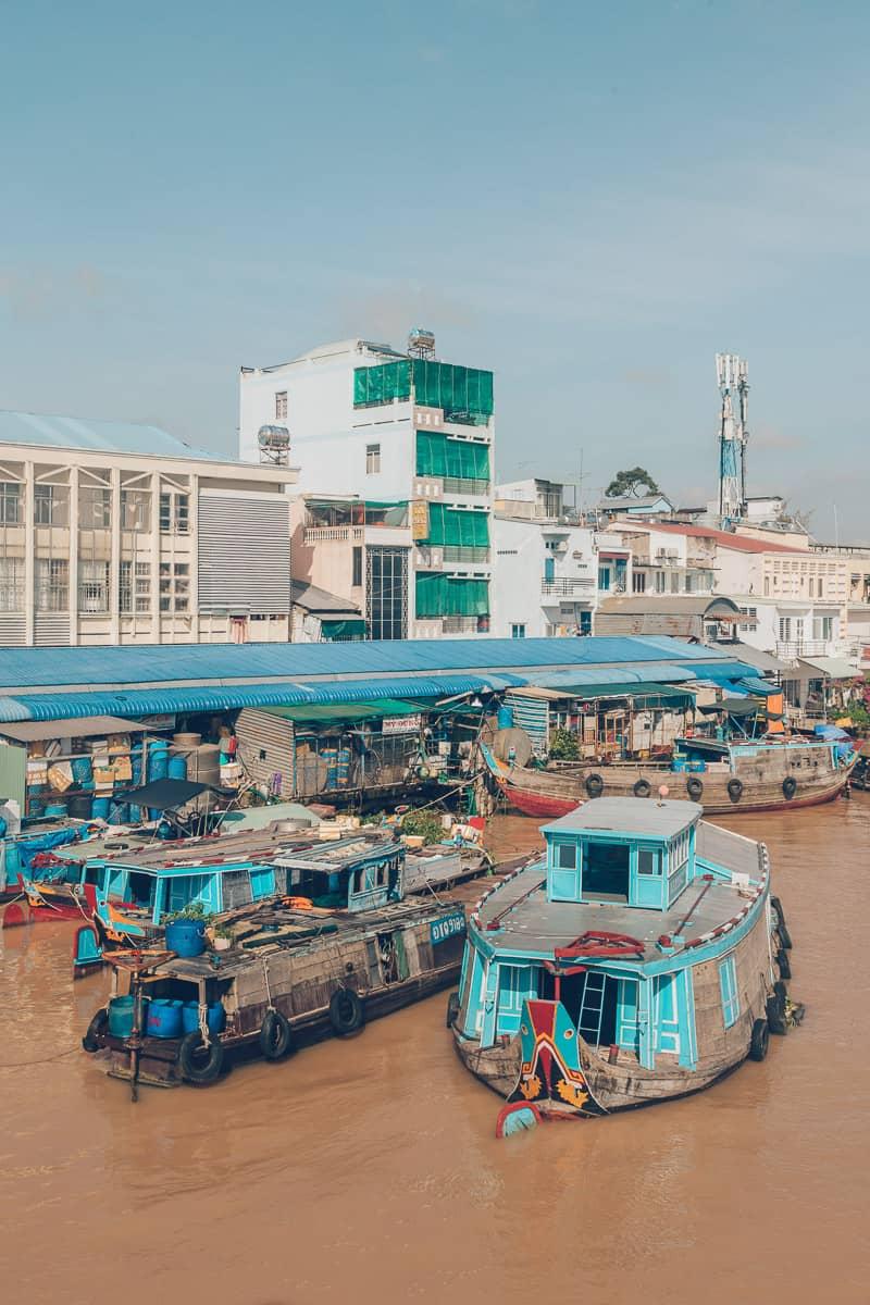 Cau Bach Dang (Bach Dang Bridge), Vinh Long, Vietnam