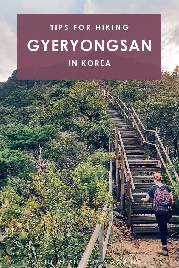A guide to hiking Gyeryongsan National Park in Korea | daejeon korea, hiking korea, outdoors korea, korea travel