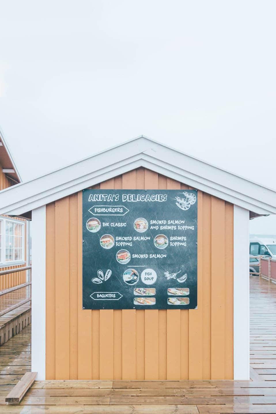 Anita's Sjømat, Lofoten, Norway