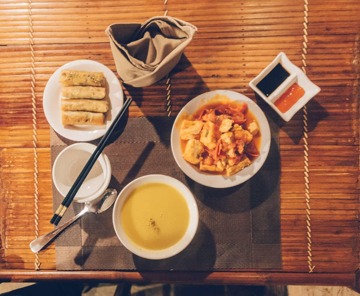 Mu Cang Chai Eco Lodge Dinner, Vietnam