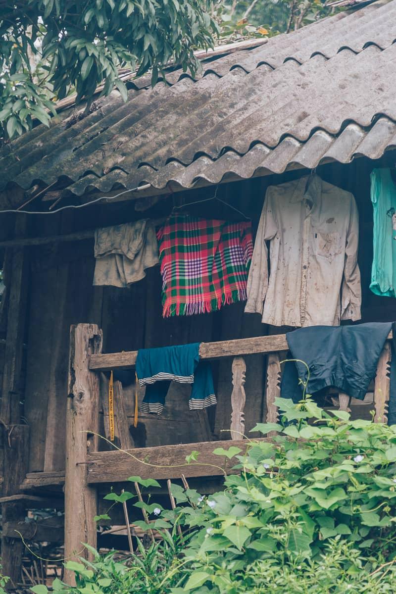 Thai Minority Village outside of Tu Le, Mu Cang Chai, Vietnam
